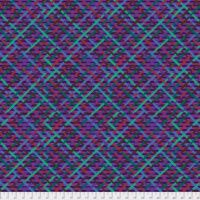 Kaffe Fassett Collective - Brandon Mably - Mad Plaid - PWBM037.PURPLE