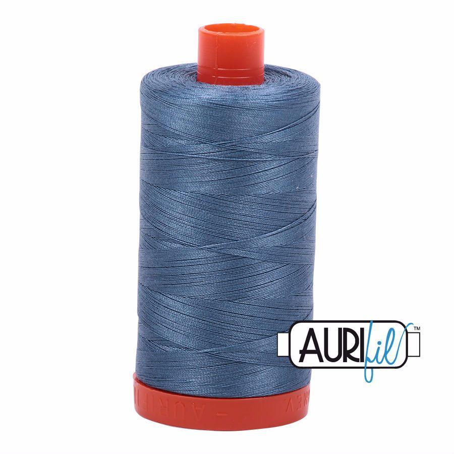 Aurifil Cotton 50wt, 1126 Blue Grey