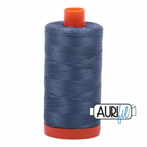 Aurifil Cotton 50wt, 1310 Medium Blue Grey