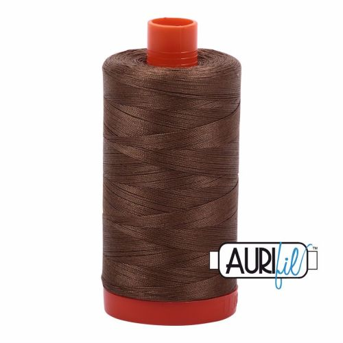 Aurifil Cotton 50wt, 1318 Dark Sandstone