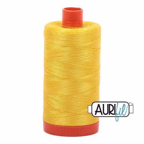 Aurifil Cotton 50wt, 2120 Canary