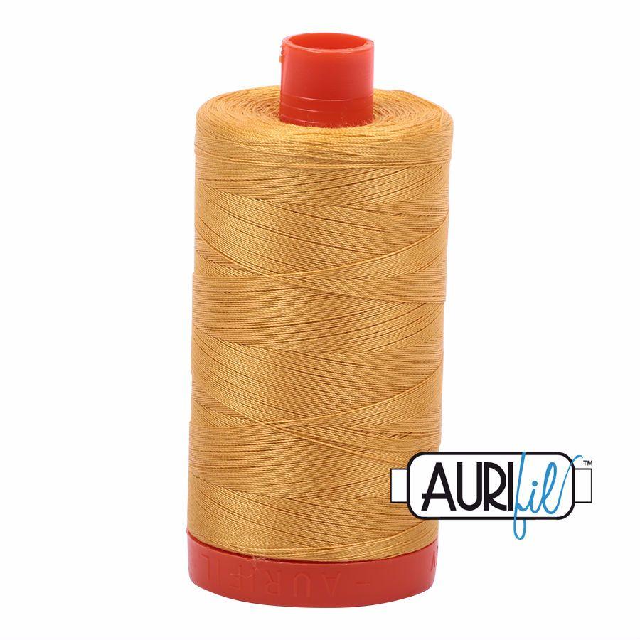 Aurifil Cotton 50wt, 2132 Tarnished Gold