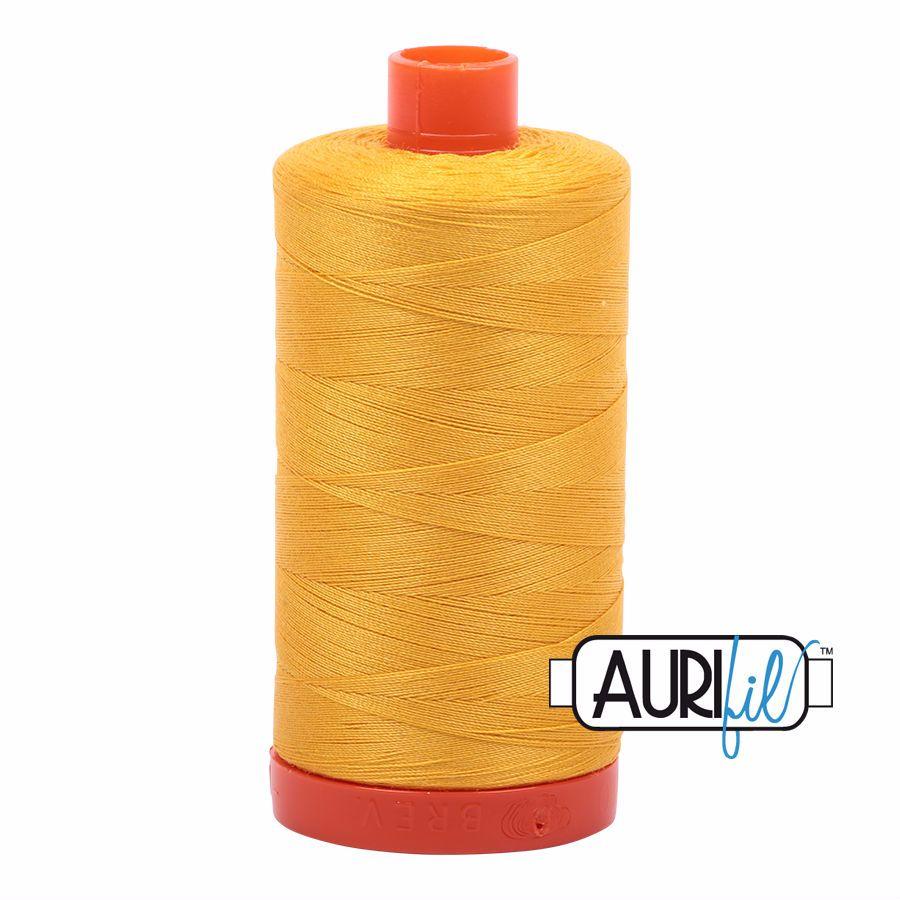 Aurifil Cotton 50wt, 2135 Yellow