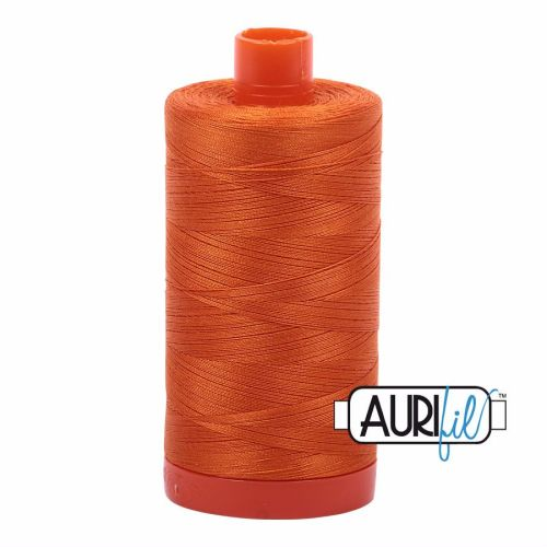 Aurifil Cotton 50wt, 2150 Pumpkin