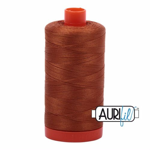 Aurifil Cotton 50wt, 2155 Cinnamon