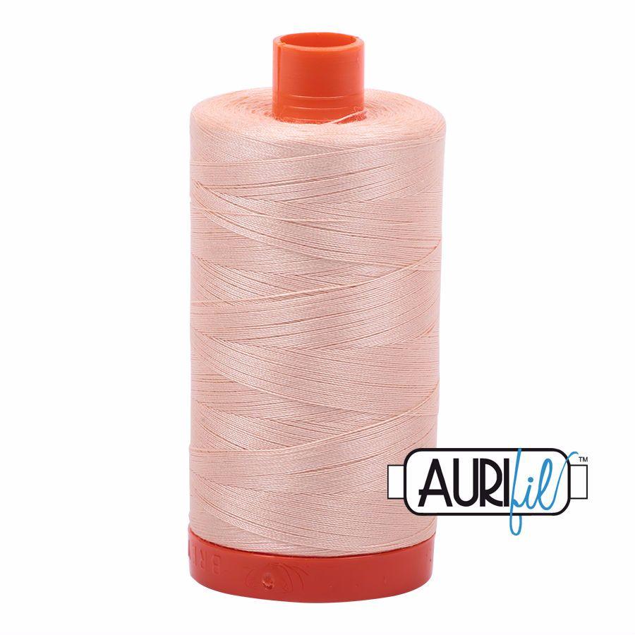 Aurifil Cotton 50wt, 2205 Apricot