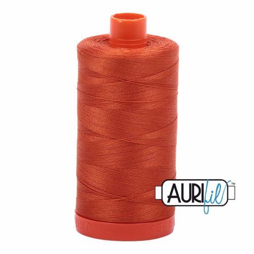 Aurifil Cotton 50wt, 2240 Rusty Orange