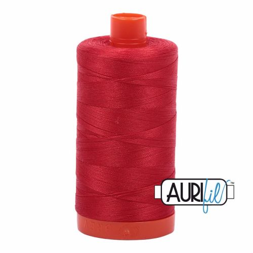 Aurifil Cotton 50wt, 2265 Lobster Red