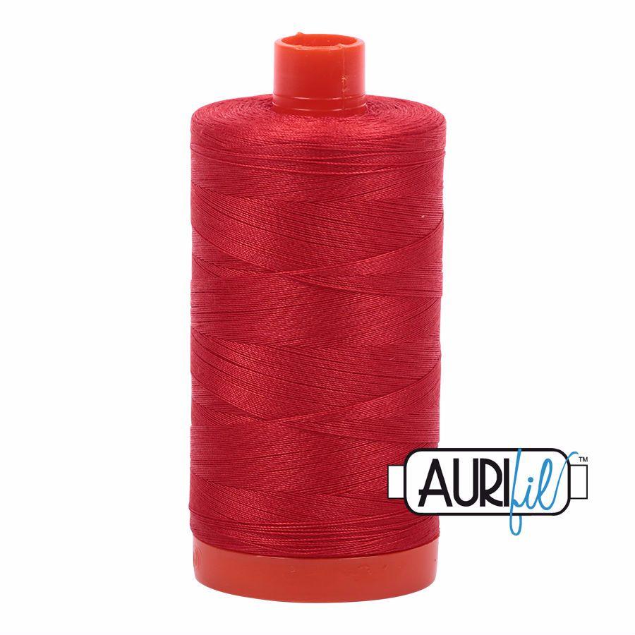 Aurifil Cotton 50wt, 2270 Paprika