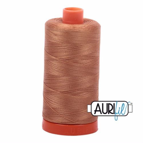 Aurifil Cotton 50wt, 2335 Light Cinnamon