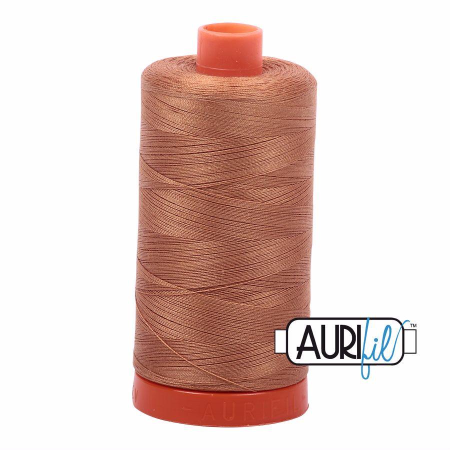 Aurifil Cotton 50wt, 2335 Light Cinnamon