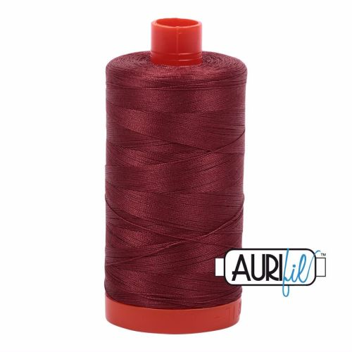 Aurifil Cotton 50wt, 2345 Raison