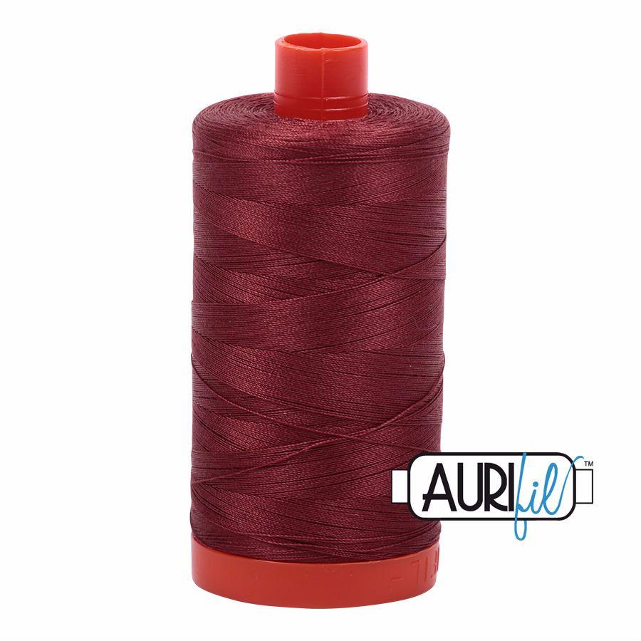 Aurifil Cotton 50wt, 2345 Raison