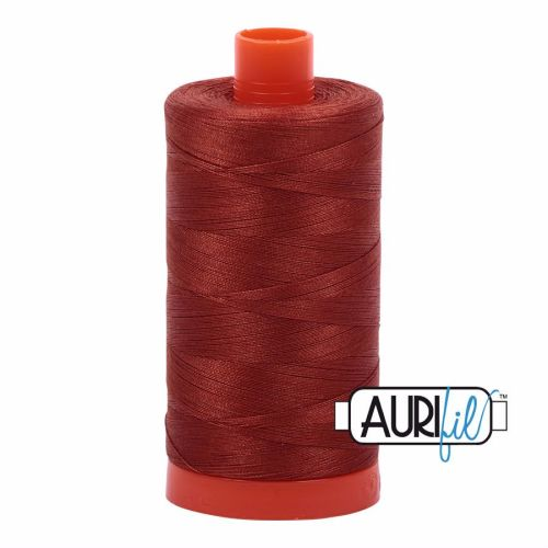 Aurifil Cotton 50wt, 2350 Copper