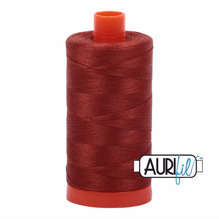 Aurifil Cotton 50wt, 2350 Copper