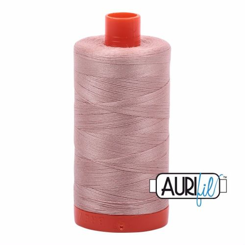 Aurifil Cotton 50wt, 2375 Antique Blush