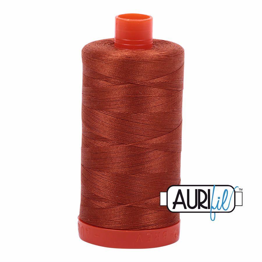 Aurifil Cotton 50wt, 2390 Cinnamon Toast