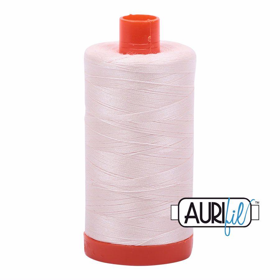 Aurifil Cotton 50wt, 2405 Oyster