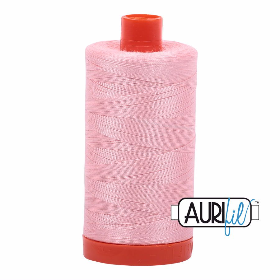 Aurifil Cotton 50wt, 2415 Blush