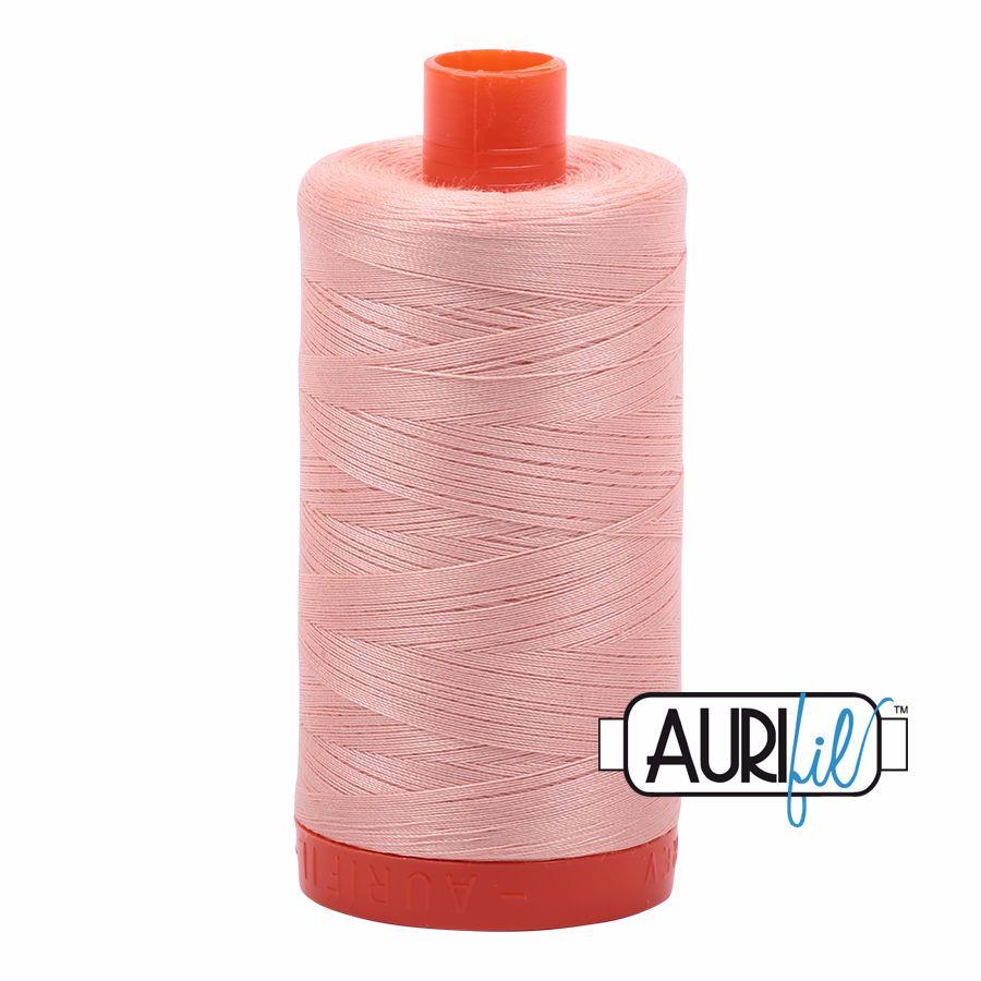 Aurifil Cotton 50wt, 2420 Blush