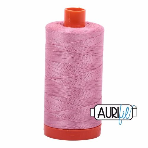 Aurifil Cotton 50wt, 2430 Antique Rose