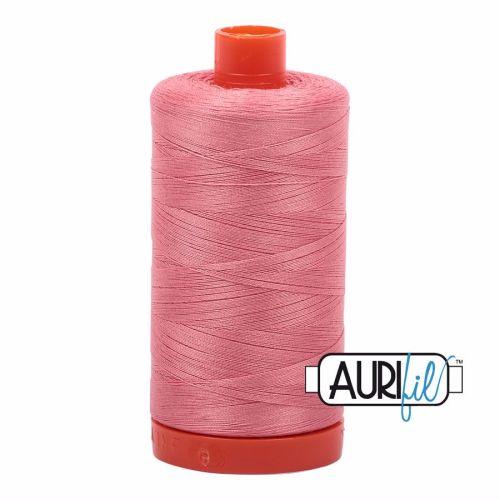 Aurifil Cotton 50wt, 2435 Peachy Pink