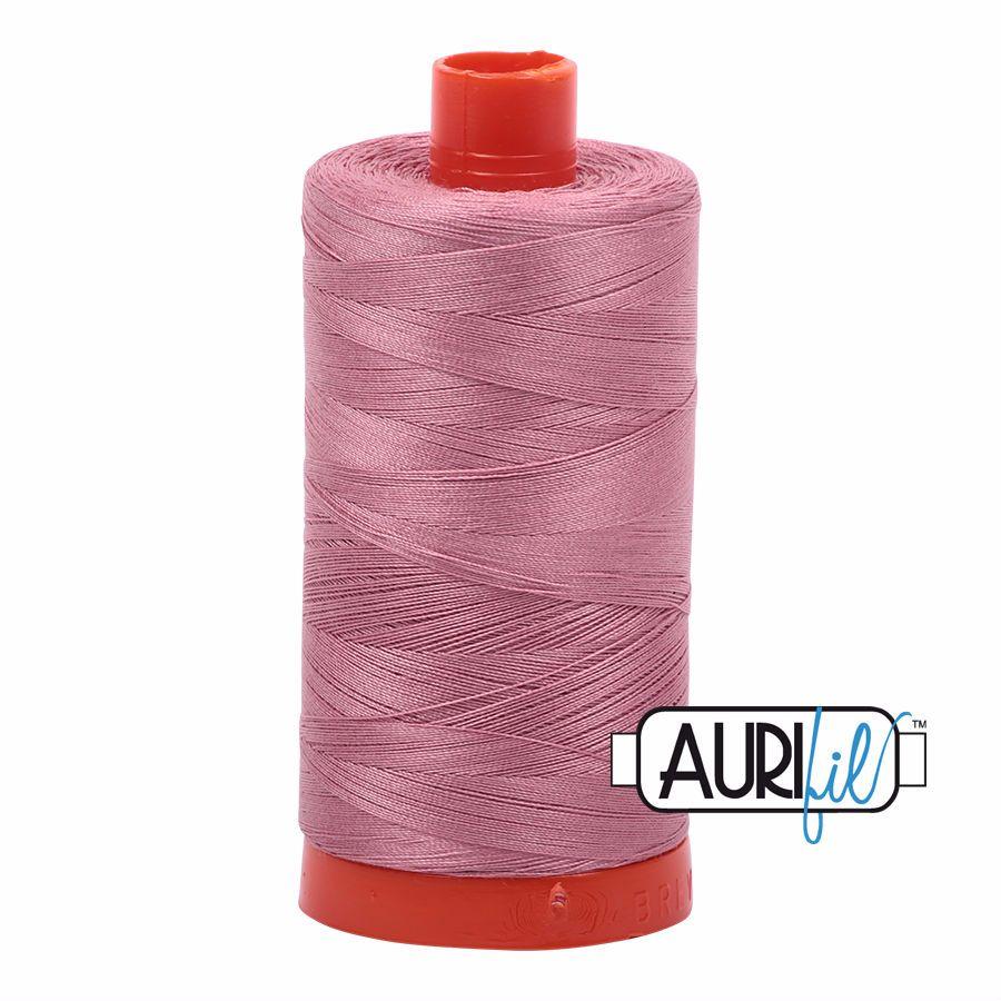Aurifil Cotton 50wt, 2445 Victorian Rose