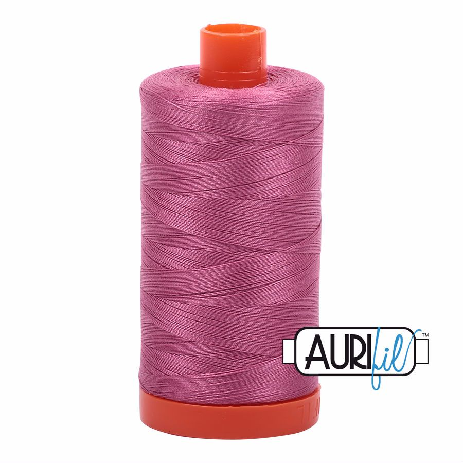 Aurifil Cotton 50wt, 2452 Dusty Rose