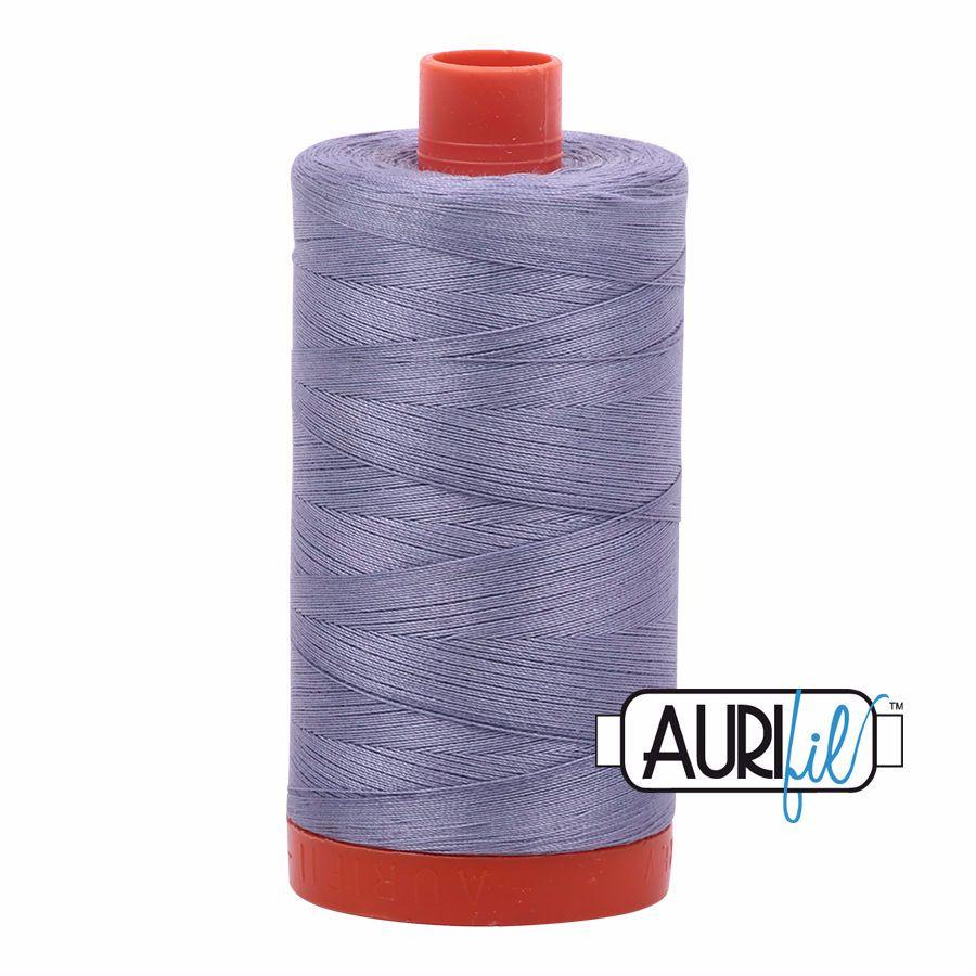 Aurifil Cotton 50wt, 2524 Grey Violet