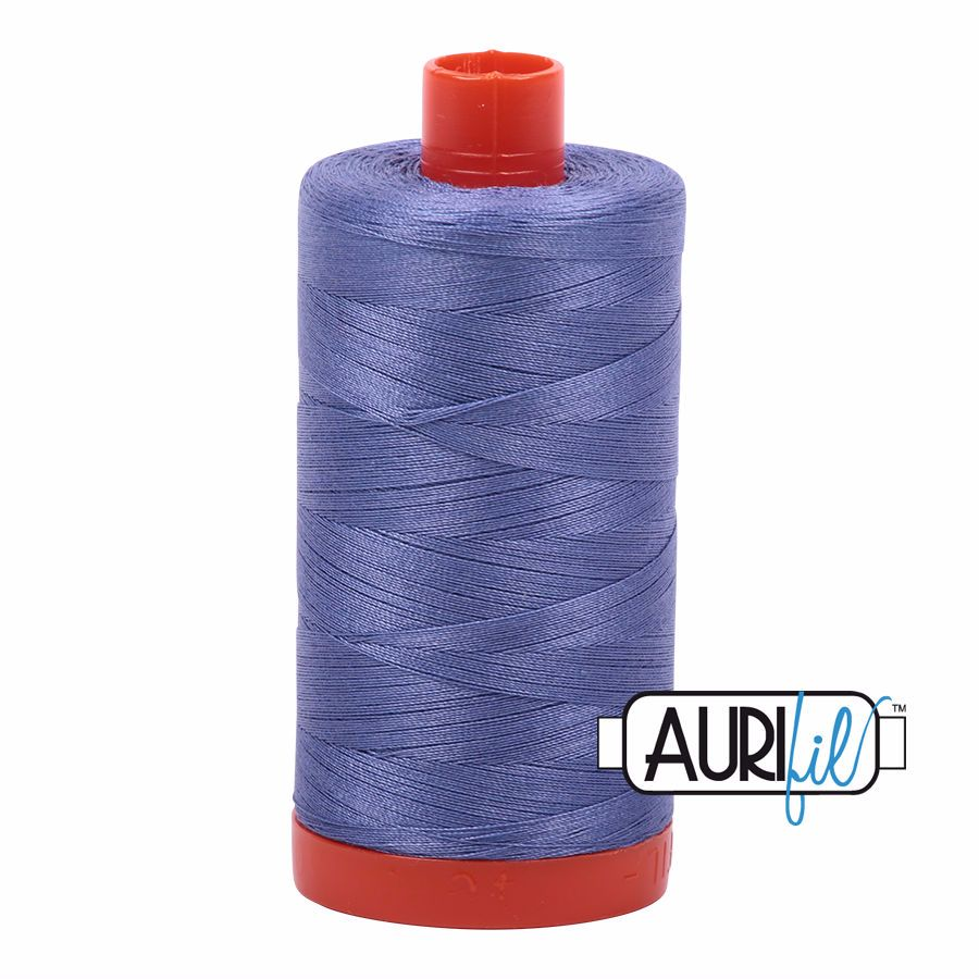 Aurifil Cotton 50wt, 2525 Dusty Blue Violet