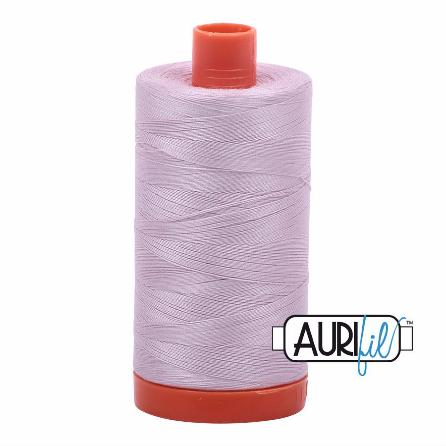 Aurifil Cotton 50wt, 2564 Pale Lilac