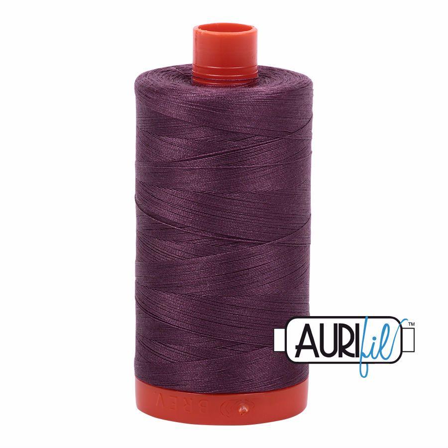 Aurifil Cotton 50wt, 2568 Mulberry