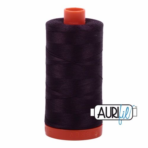 Aurifil Cotton 50wt, 2570 Aubergine