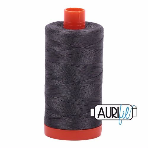 Aurifil Cotton 50wt, 2630 Dark Pewter