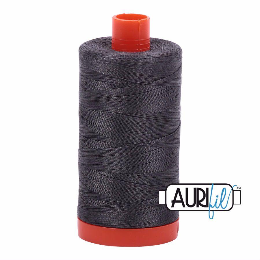 Aurifil Cotton 50wt, 2630 Dark Pewter