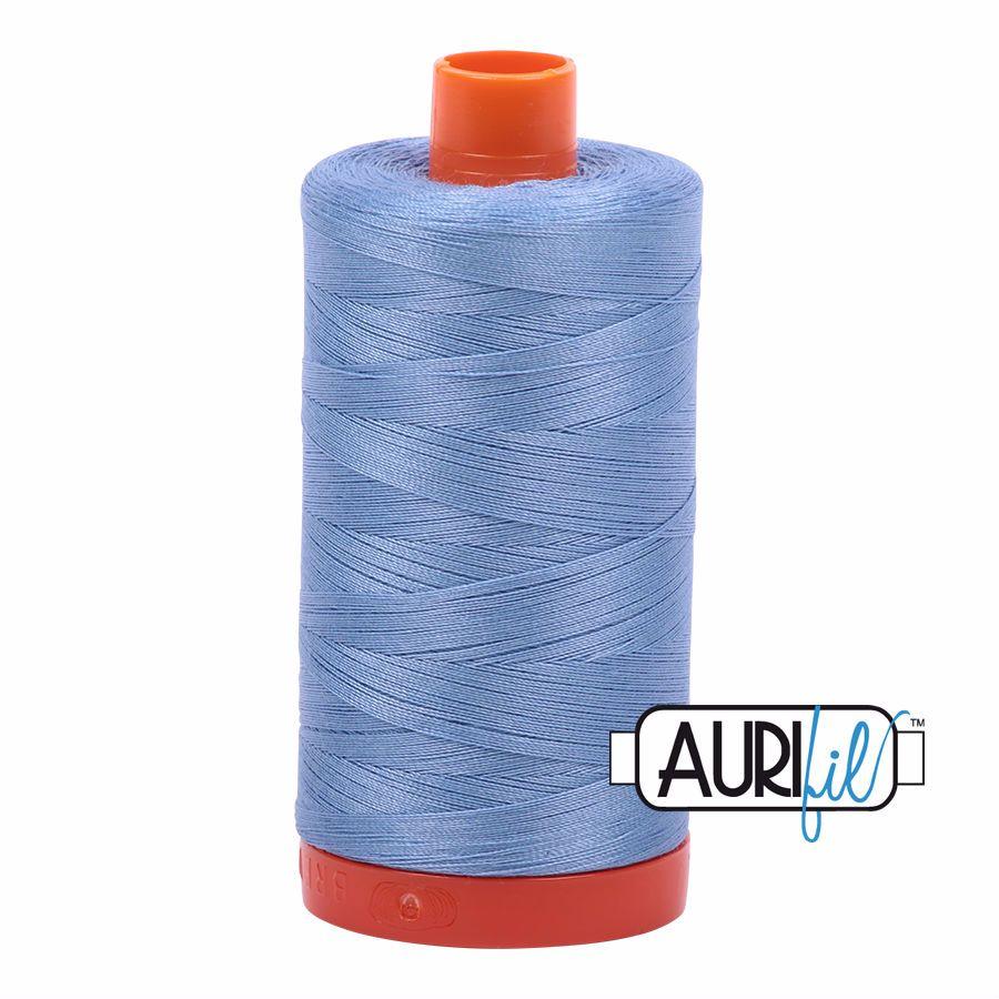 Aurifil Cotton 50wt, 2720 Light Delft Blue