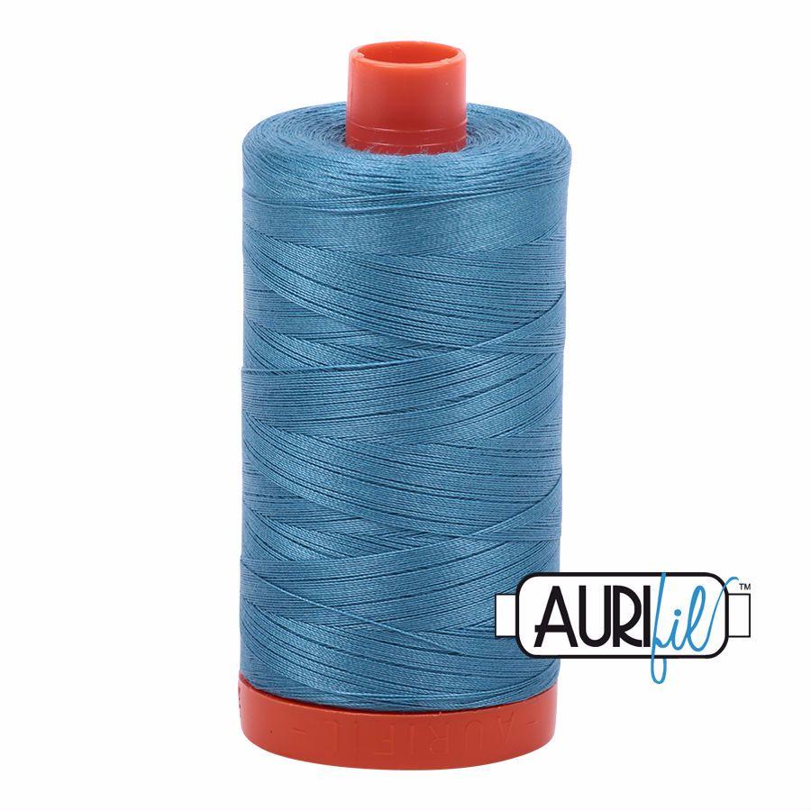 Aurifil Cotton 50wt, 2815 Teal