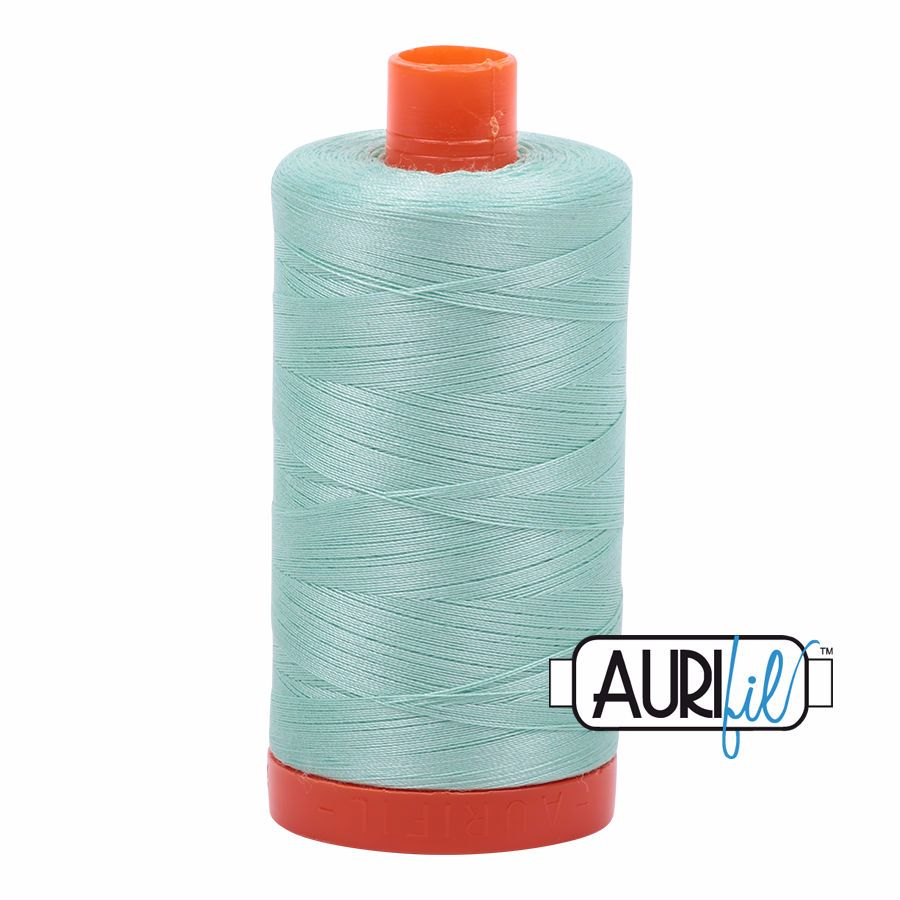Aurifil Cotton 50wt, 2830 Mint
