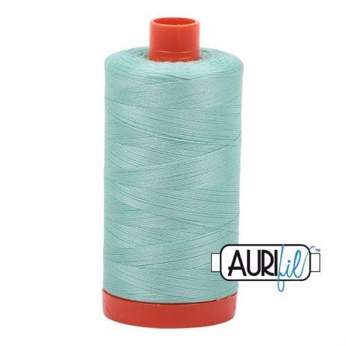 Aurifil Cotton 50wt, 2835 Medium Mint