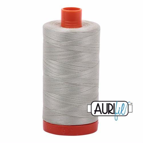 Aurifil Cotton 50wt, 2843 Light Grey Green