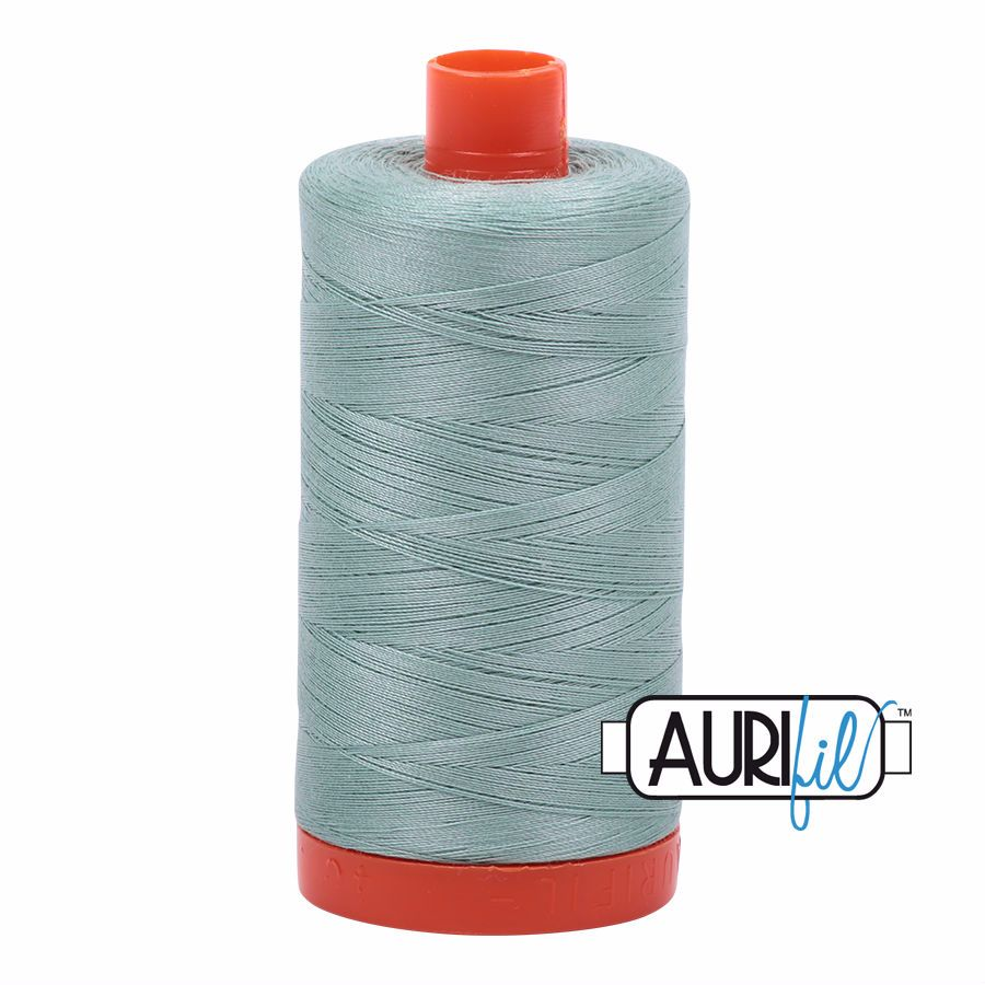 Aurifil Cotton 50wt, 2845 Light Juniper