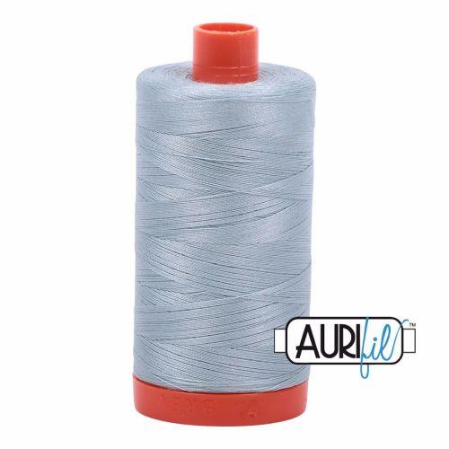 Aurifil Cotton 50wt, 2847 Bright Grey Blue