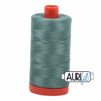 Aurifil Cotton 50wt, 2850 Medium Juniper