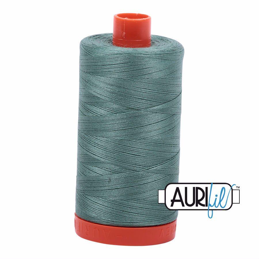 Aurifil Cotton 50wt, 2850 Medium Juniper