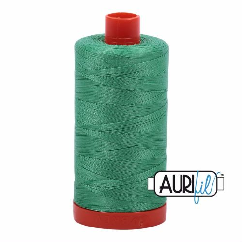 Aurifil Cotton 50wt, 2860 Light Emerald
