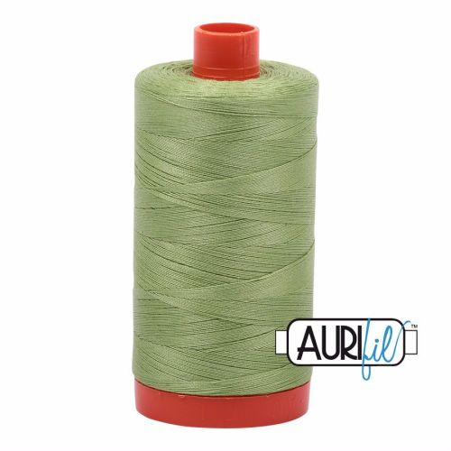 Aurifil Cotton 50wt, 2882 Light Fern