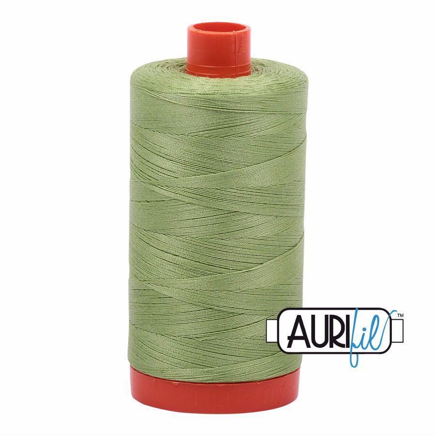 Aurifil Cotton 50wt, 2882 Light Fern