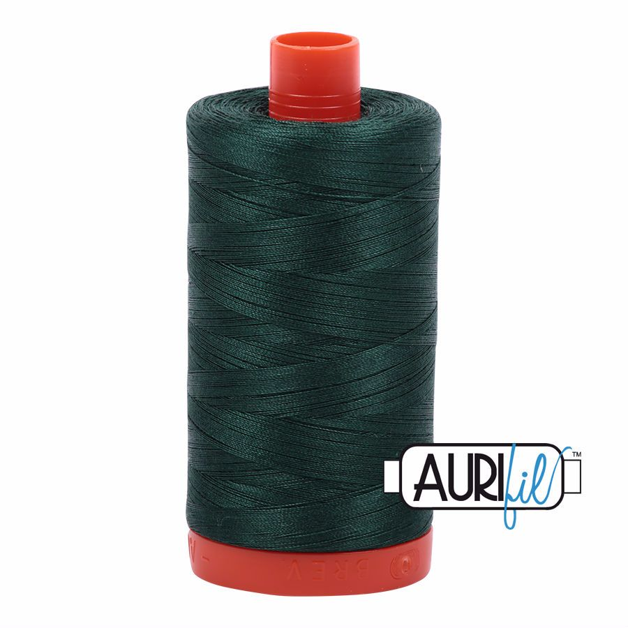 Aurifil Cotton 50wt, 2885 Medium Spruce