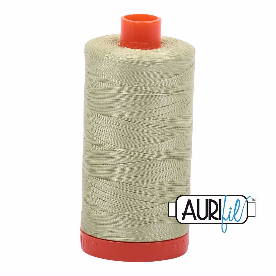 Aurifil Cotton 50wt, 2886 Light Avocado