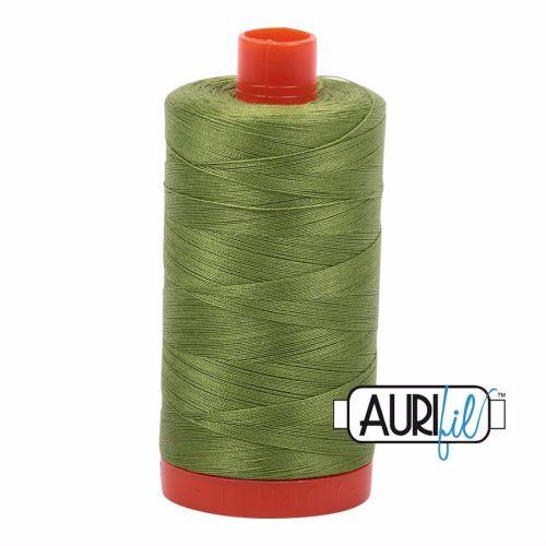 Aurifil Cotton 50wt, 2888 Fern Green